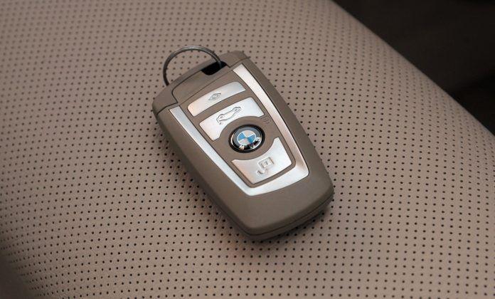BMW serii 5 (F10) - kluczyk