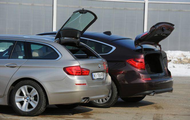BMW serii 5 (F10) - otwieranie bagażnika