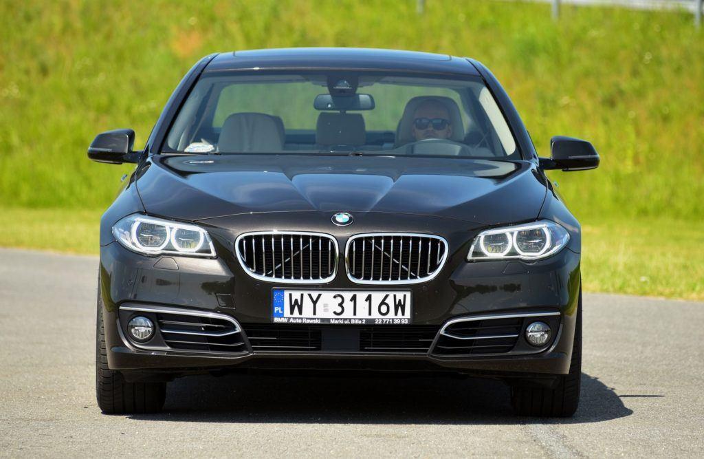 BMW serii 5 (F10) - przód FL