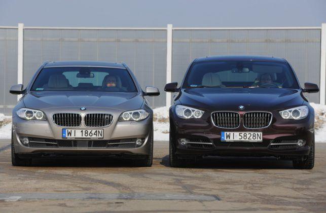 BMW serii 5 (F10) - przody
