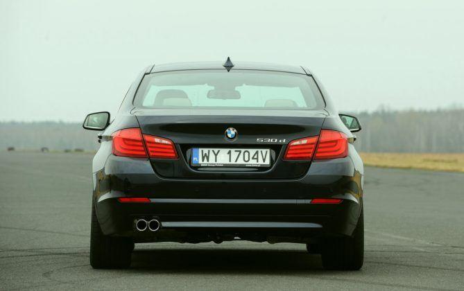 BMW serii 5 (F10) - tył