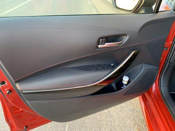 Toyota Corolla (2019) - wnętrze