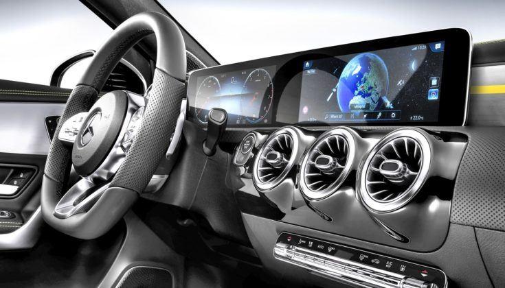 Mercedes – system multimedialny MBUX