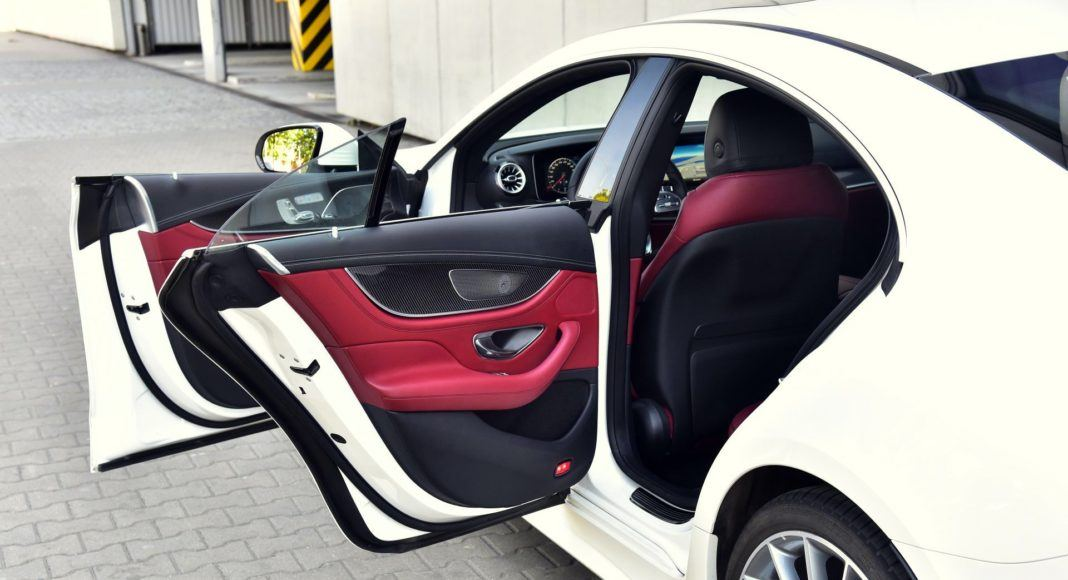 Mercedes CLS - drzwi