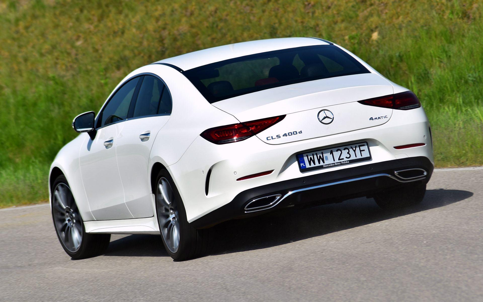 Mercedes CLS - dynamiczne (6)