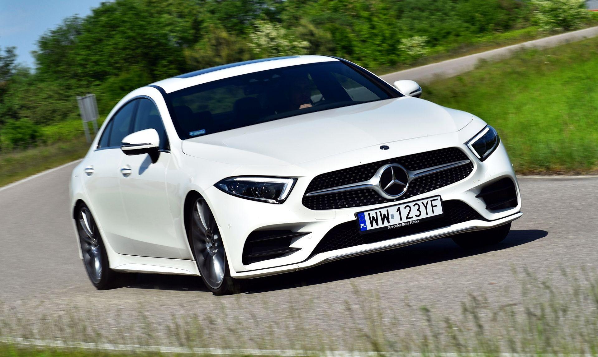 Mercedes CLS - dynamiczne