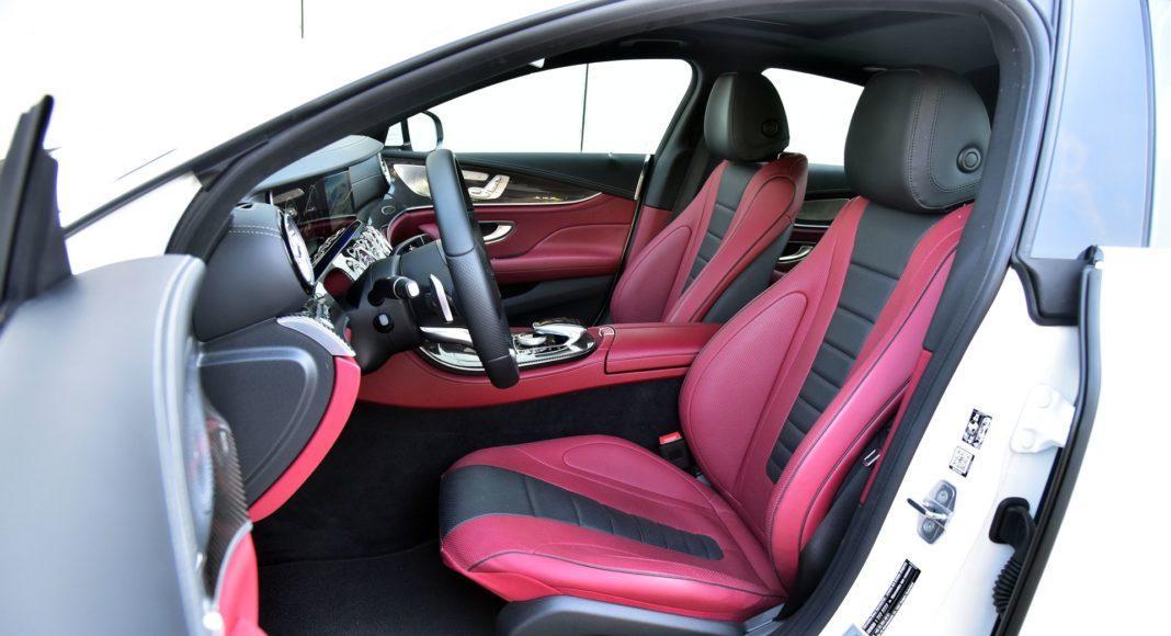 Mercedes CLS - fotel kierowcy
