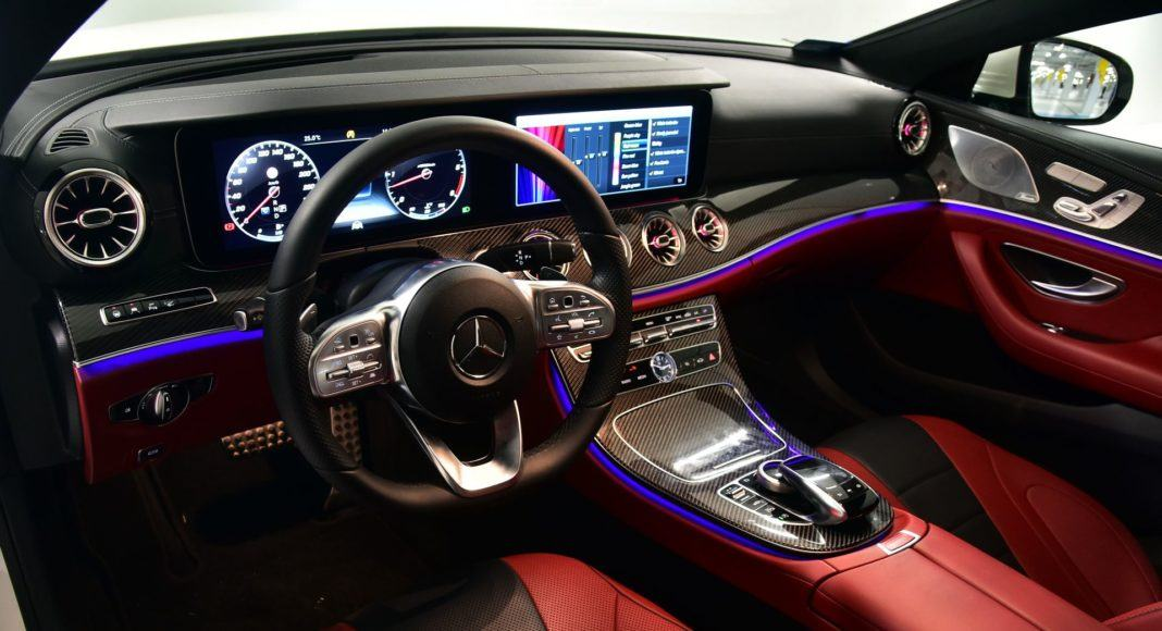 Mercedes CLS - oświetlenie (2)