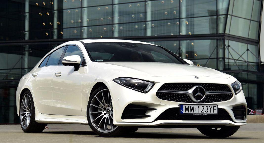 Mercedes CLS - przód