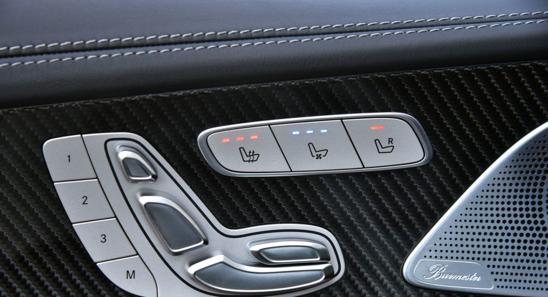 Mercedes CLS - sterowanie fotelami