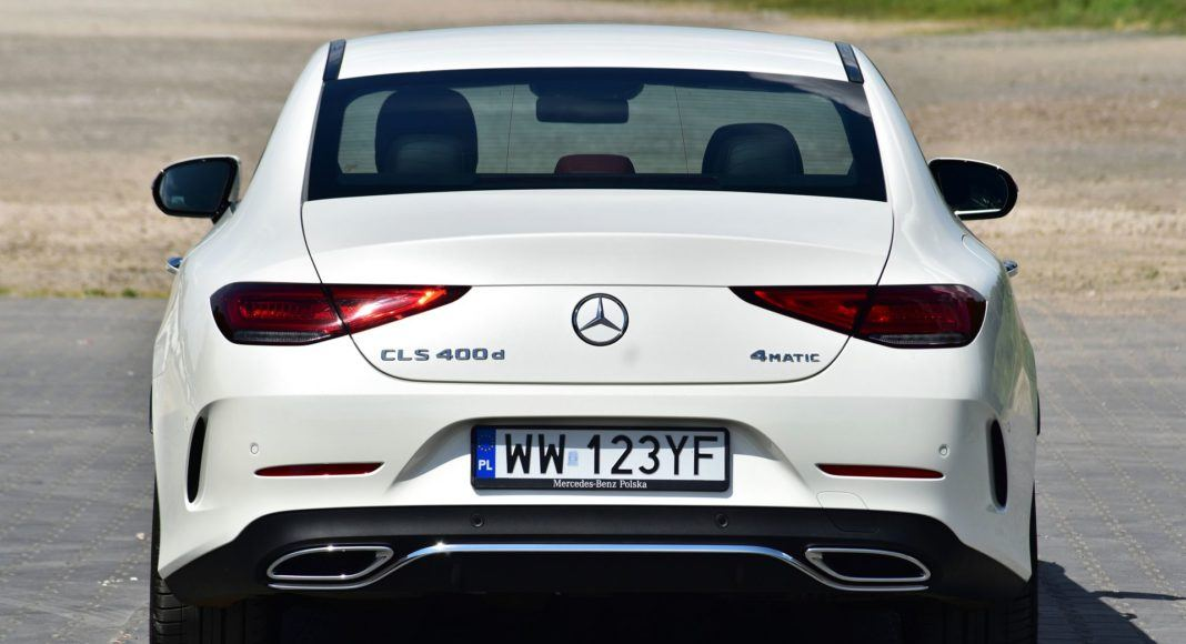 Mercedes CLS - tył