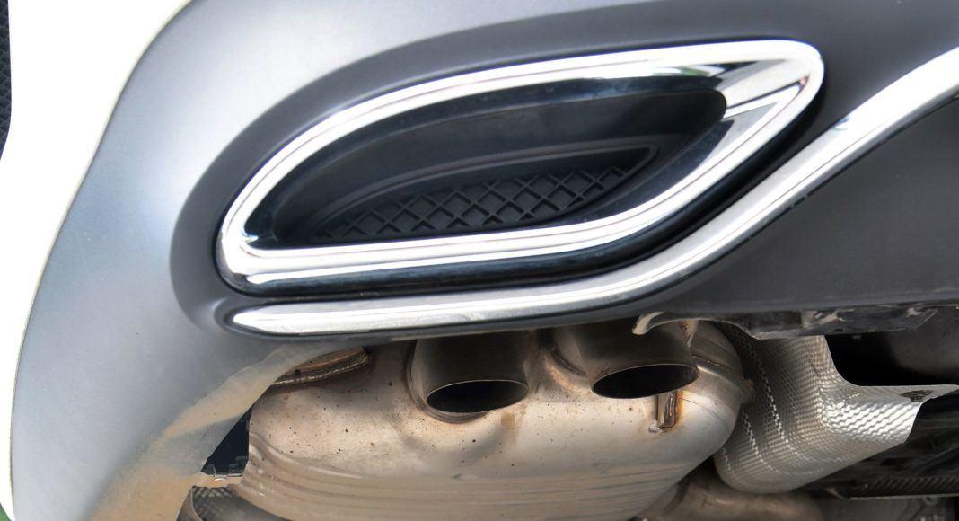 Mercedes CLS - wydech