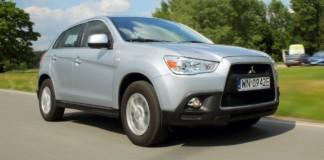 Mitsubishi ASX - dynamiczne