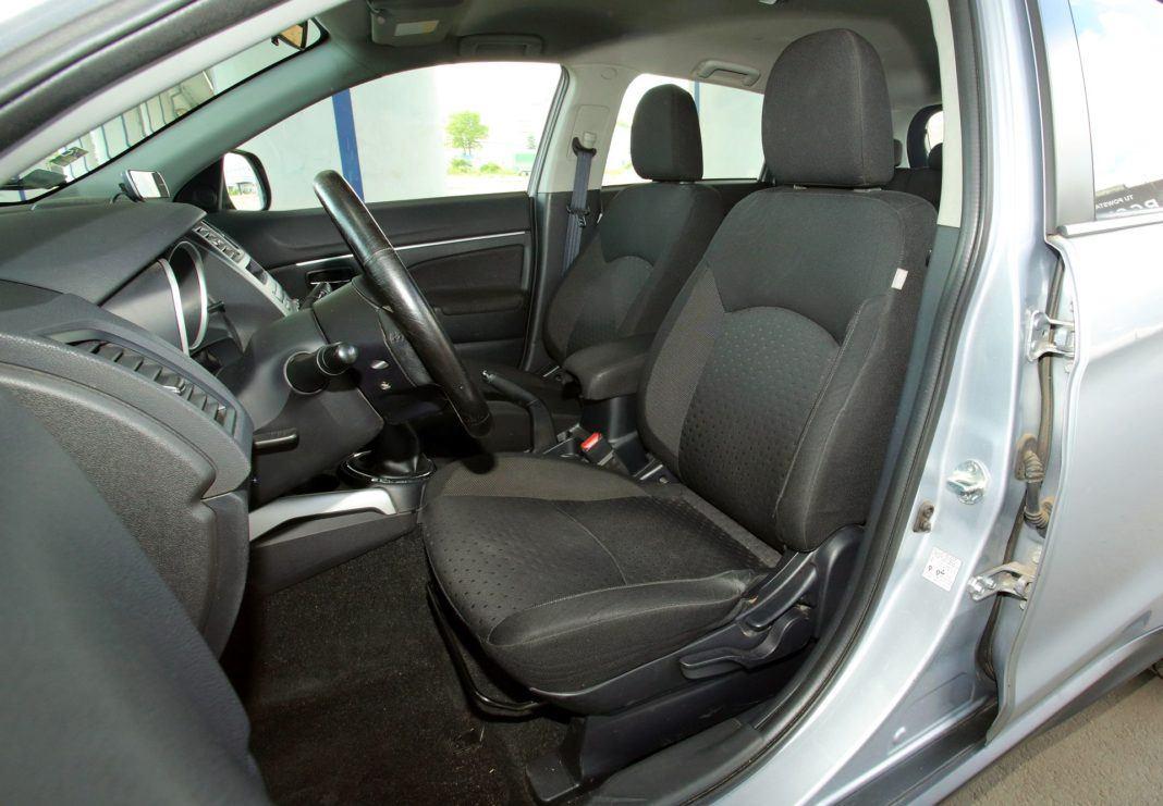 Mitsubishi ASX - fotel kierowcy
