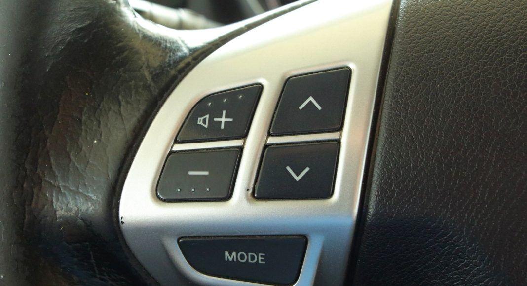 Mitsubishi ASX - sterowanie radiem