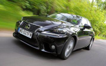 Lexus IS - dynamiczne