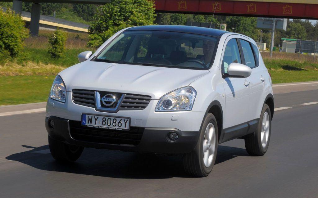 Nissan Qashqai - dynamiczne