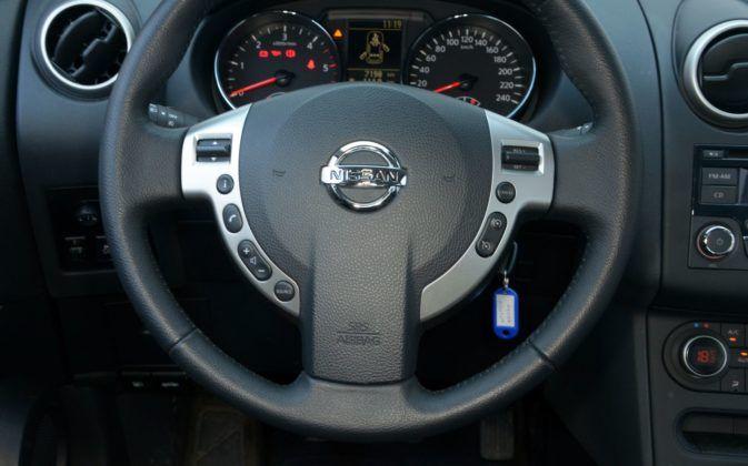 Nissan Qashqai I - kierownica