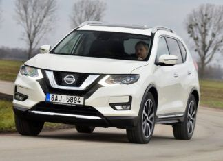 Nissan X-Trail - dane techniczne