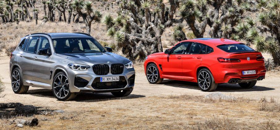 BMW X3 M, X4 M