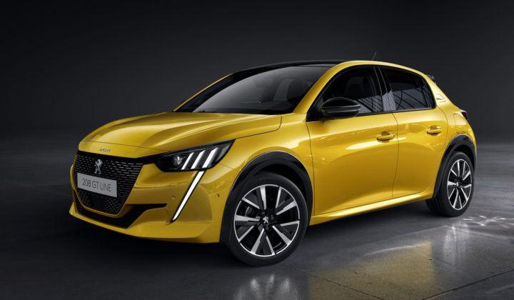 Peugeot 208 (2019) - przód