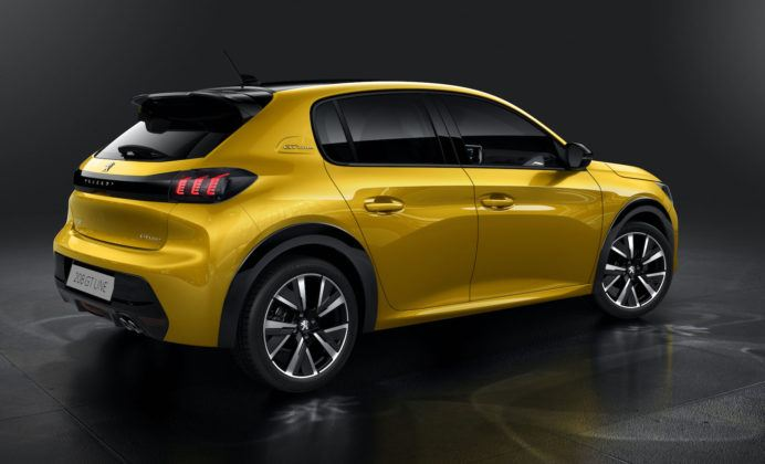 Peugeot 208 (2019) - tył