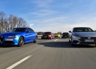 Volkswagen Arteon kontra Alfa Romeo Giulia, Audi A5, Kia Stinger i Peugeot 508 – porównanie