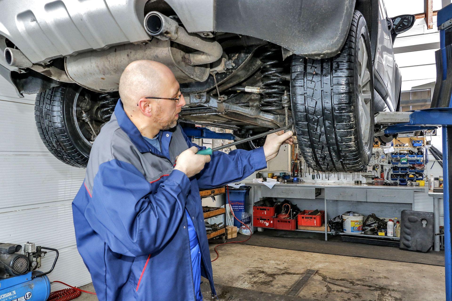 Przygotowanie samochodu do przeglądu - badanie techniczne (2)