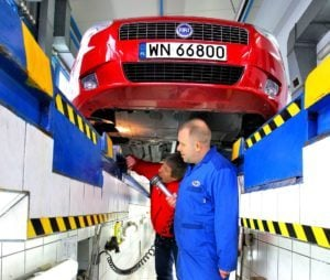Przygotowanie samochodu do przeglądu - badanie techniczne