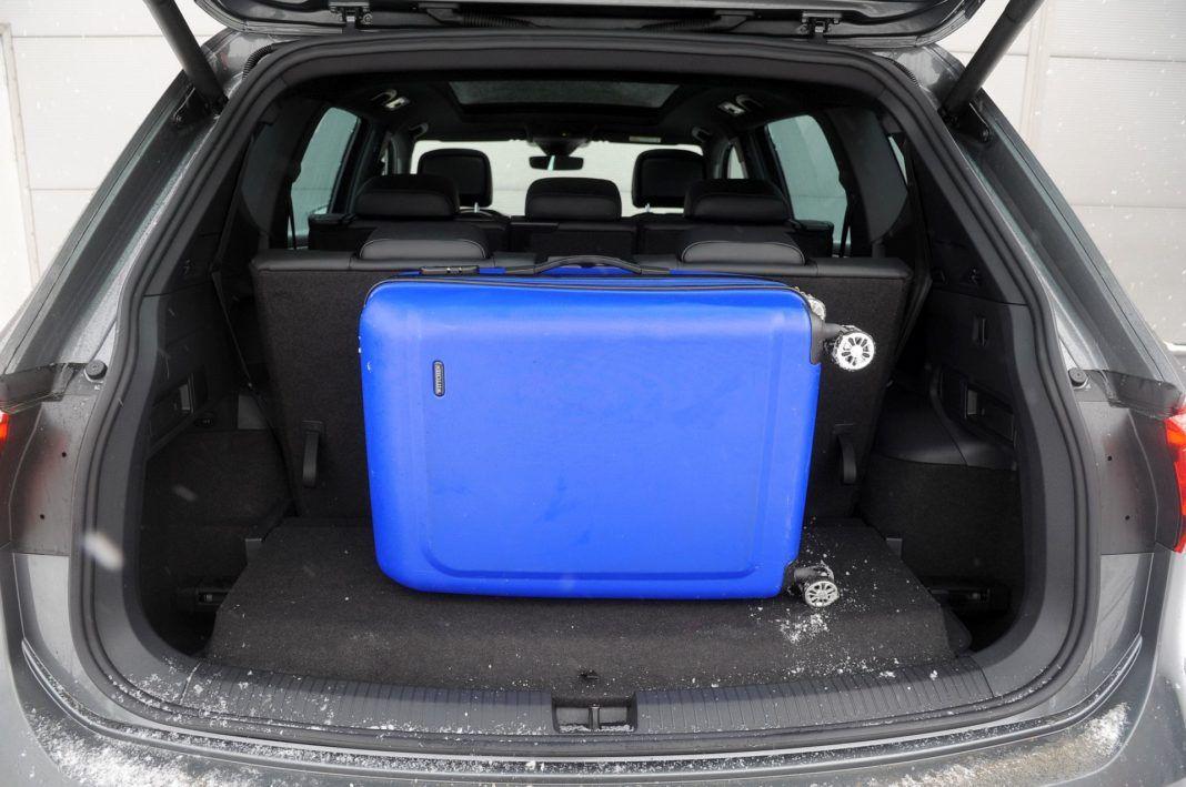 Seat Tarraco - bagażnik