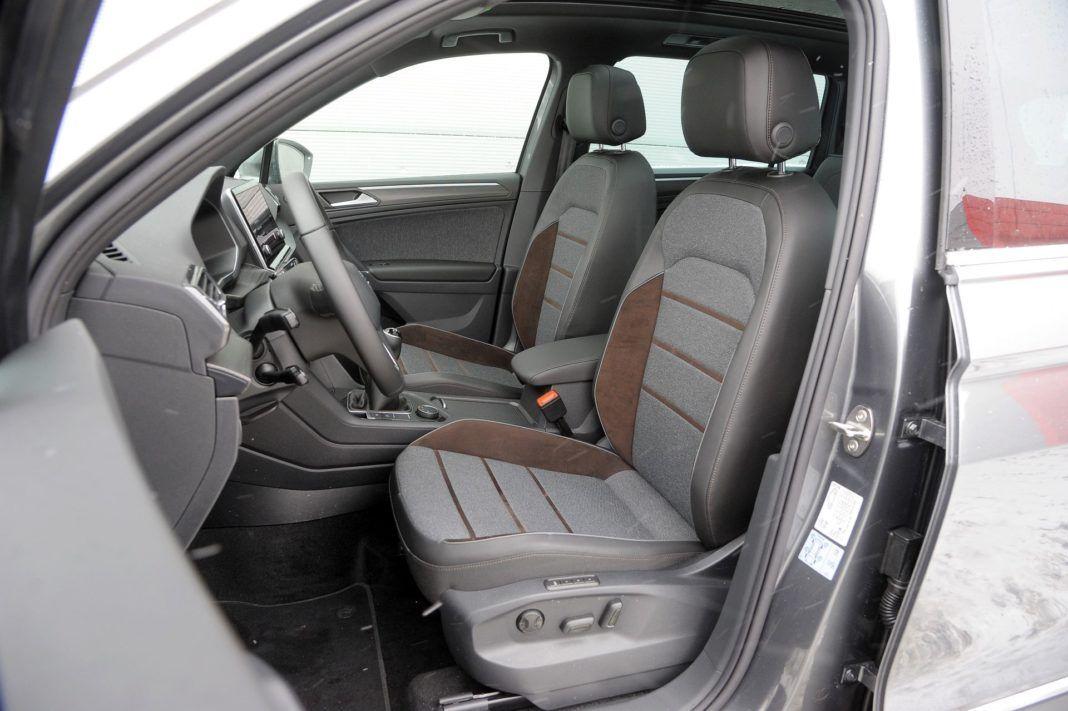 Seat Tarraco - fotel kierowcy