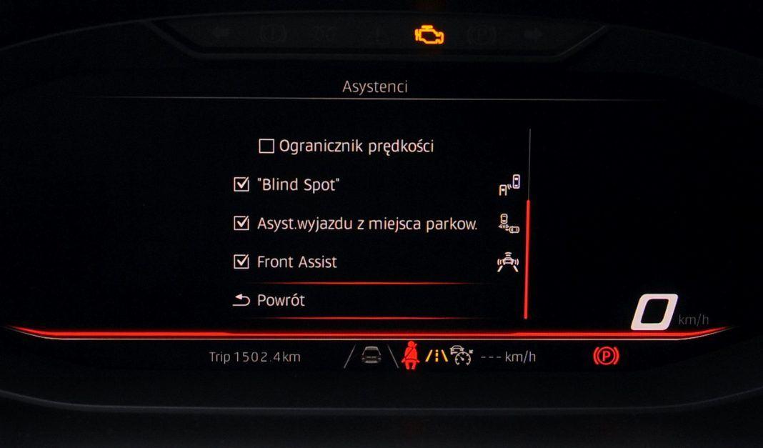 Seat Tarraco - systemy bezpieczeństwa