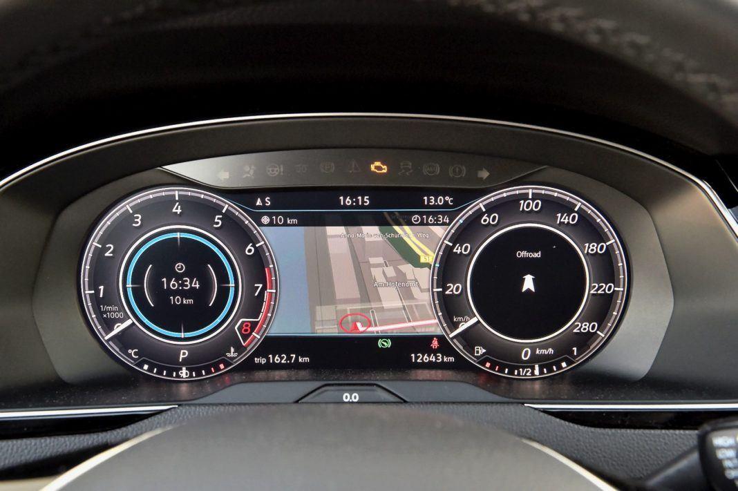 Volkswagen Arteon - zegary