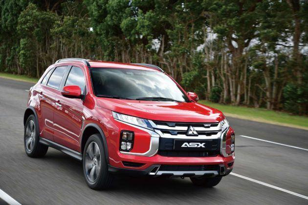 Mitsubishi ASX po liftingu (2020)