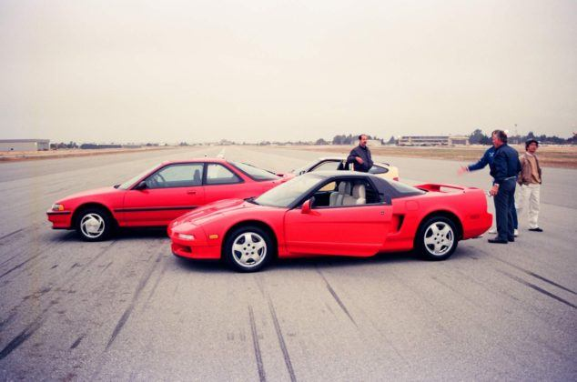 Acura NSX - testy