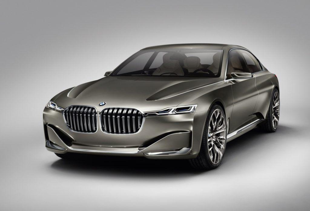 Prototyp nowej limuzyny BMW - Vision Future Luxury z 2014 r.
