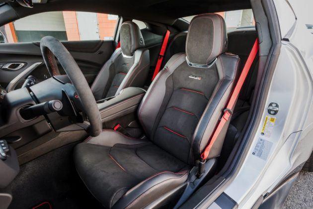 Chevrolet Camaro ZL1 z pakietem 1LE (2019)