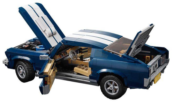 Ford Mustang z klocków Lego