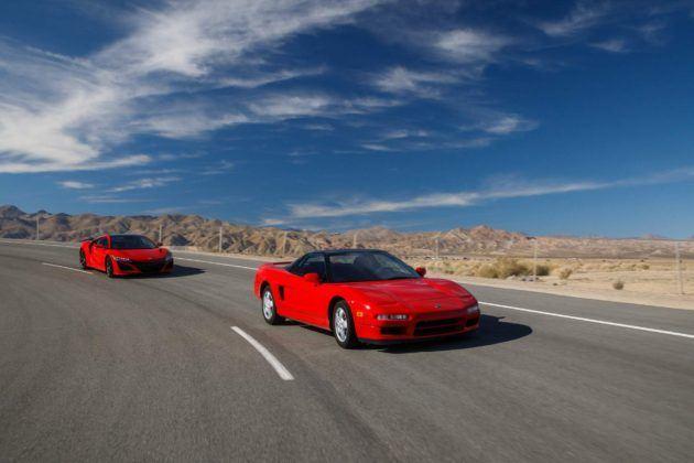 Acura NSX: pierwsza i druga generacja
