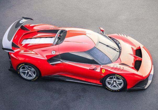 Ferrari P80/C - dach