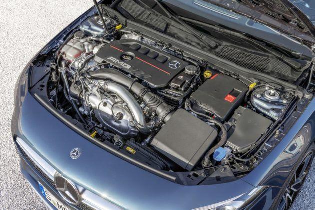 Mercedes-AMG A 35 Limuzyna - silnik