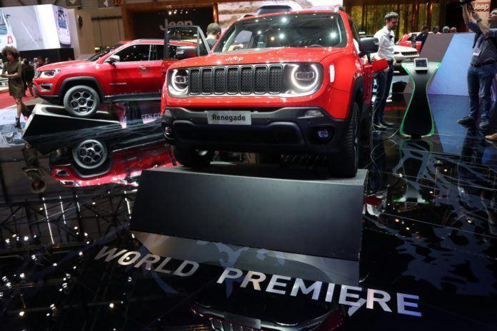 Jeep Renegade i Compass z hybrydowym napędem plug-in
