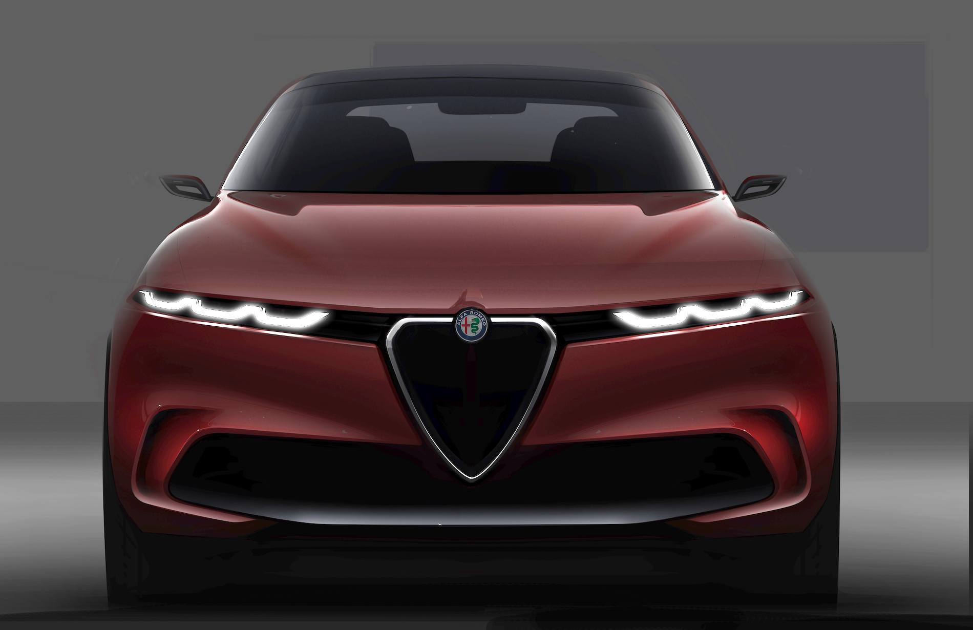 Alfa Romeo Tonale - przód