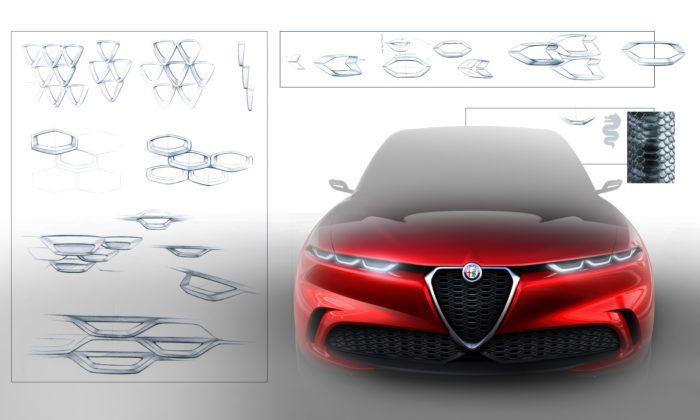 Alfa Romeo Tonale - szkic