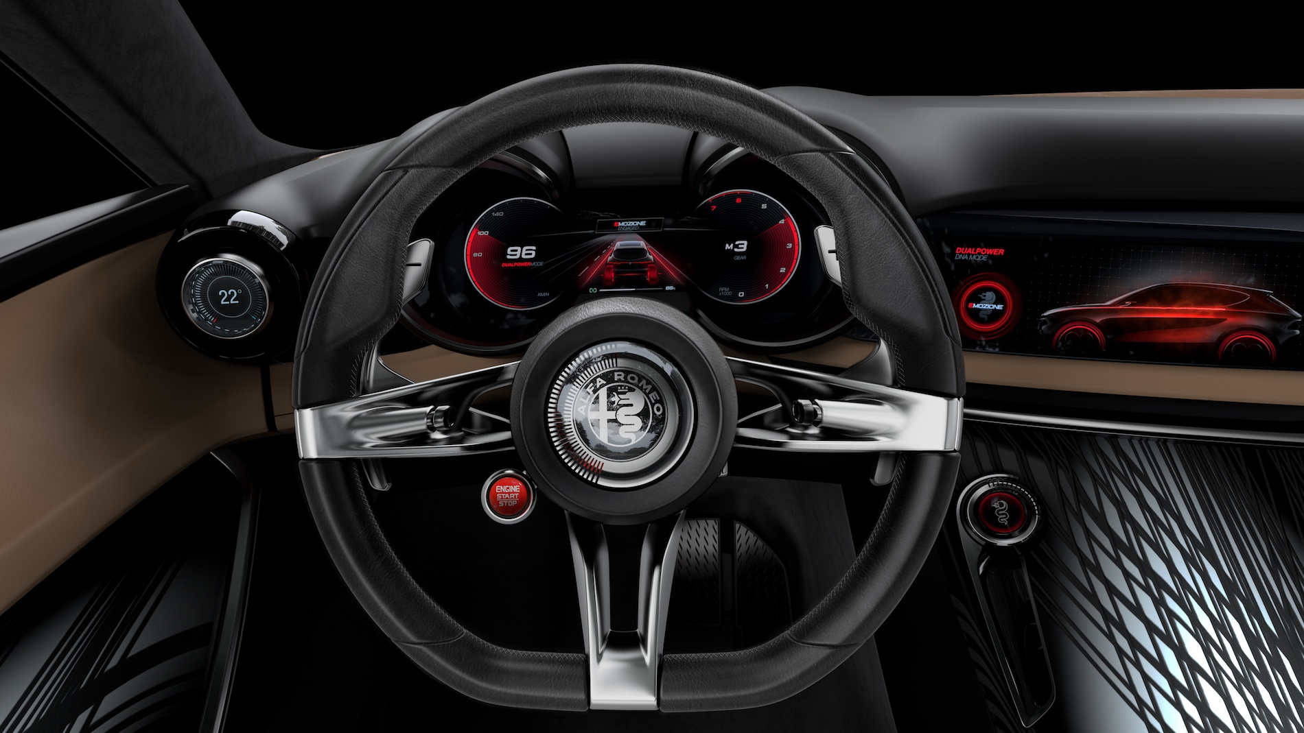 Alfa Romeo Tonale - kokpit