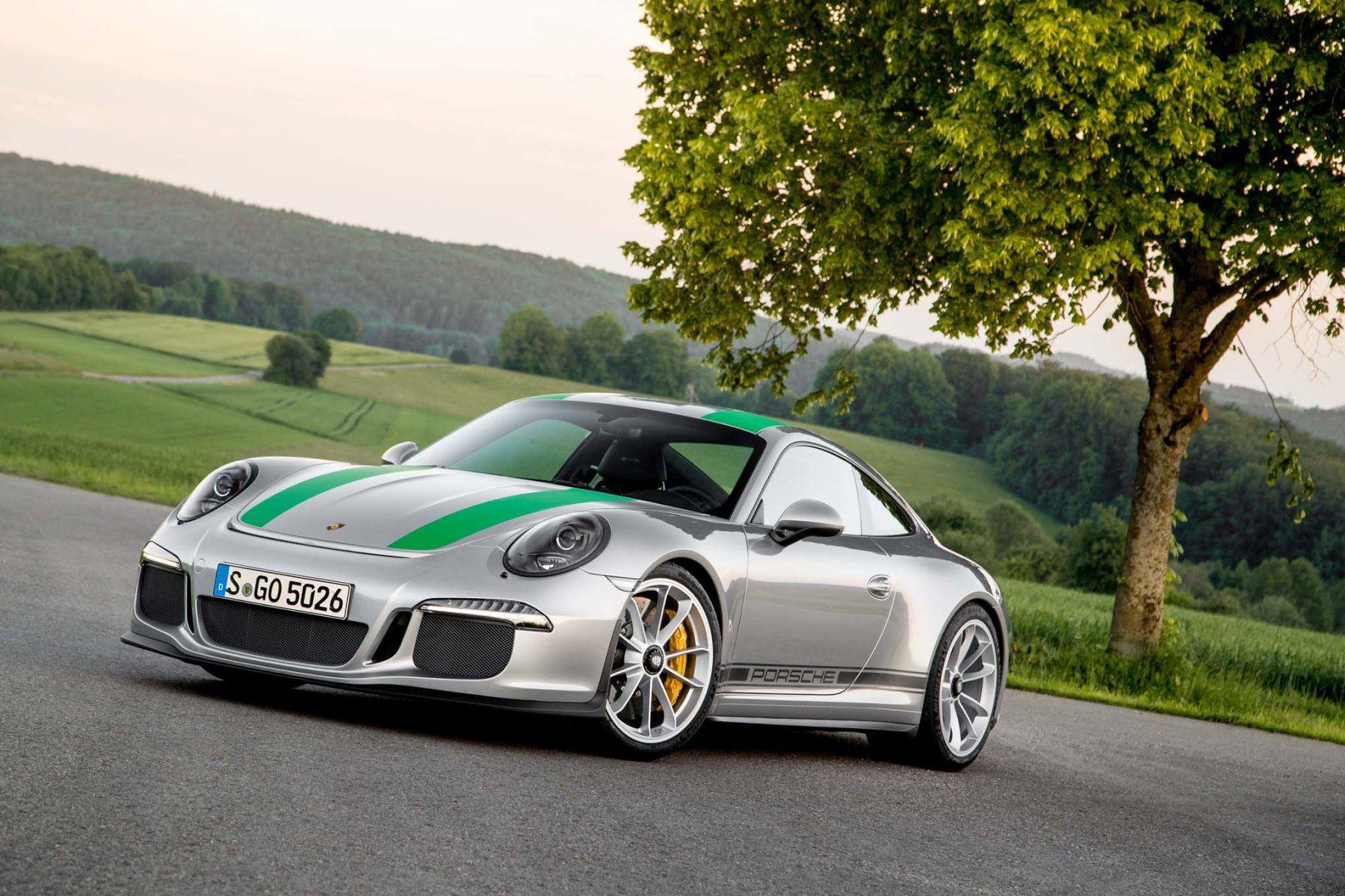 Porsche 911 R, - limitowane do 991 egzemplarzy.