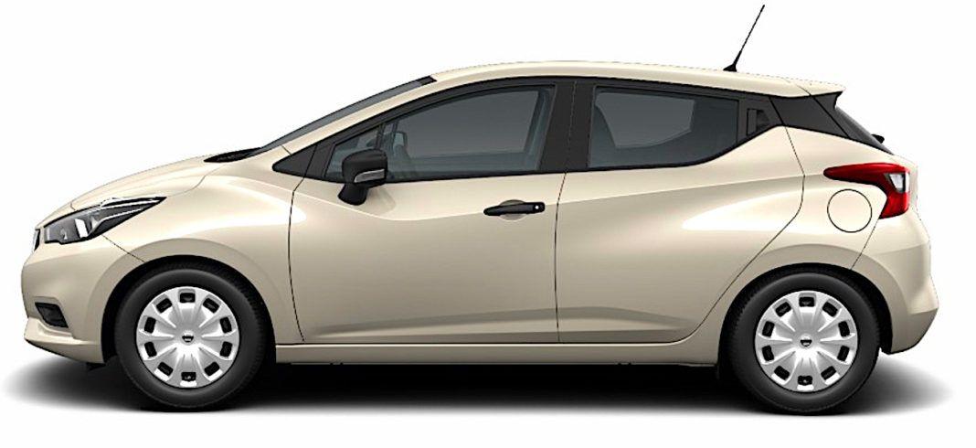 2017 Nissan Micra - bok