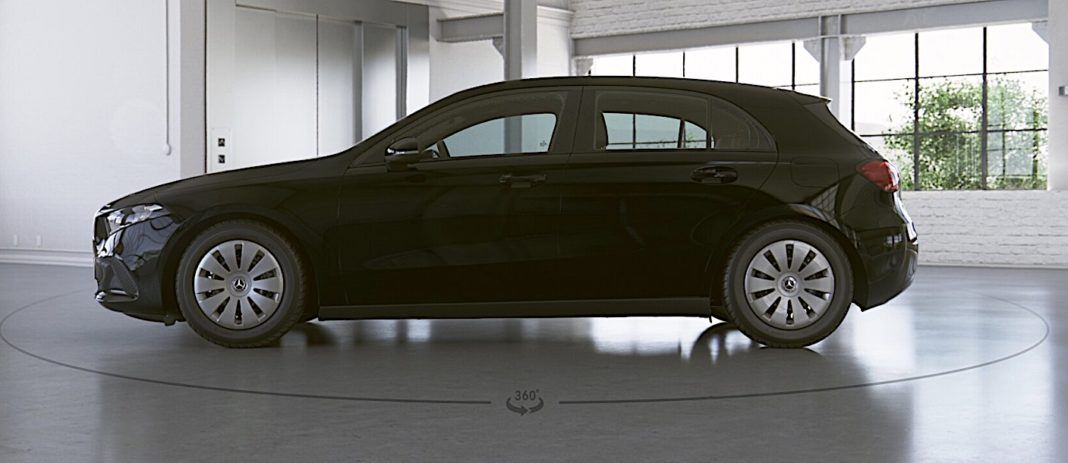 2018 Mercedes klasy A - bok