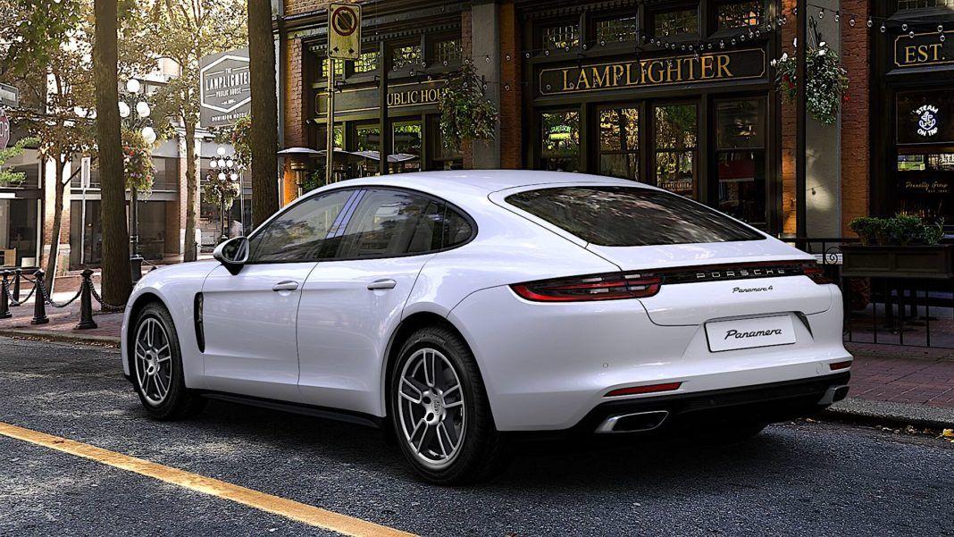 2018 Porsche Panamera - tyl