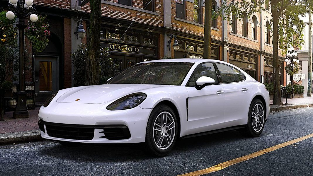 2018 Porsche Panamera - przód